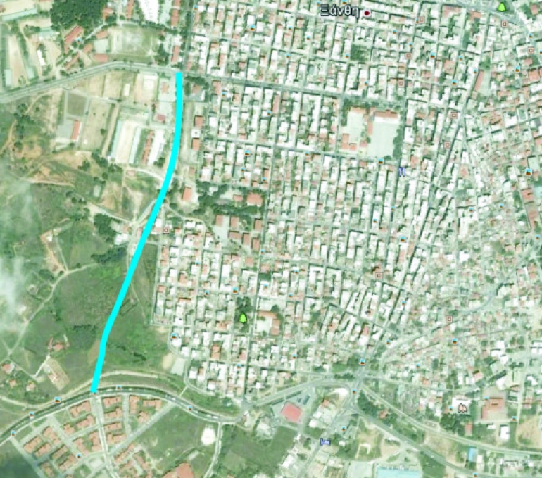 Ένας δρόμος «ανάσα», ένωσης της πόλης δυτικά και καθαρή κατεύθυνση για τον ορεινό όγκο, η επέκταση της οδού Σάρδεων