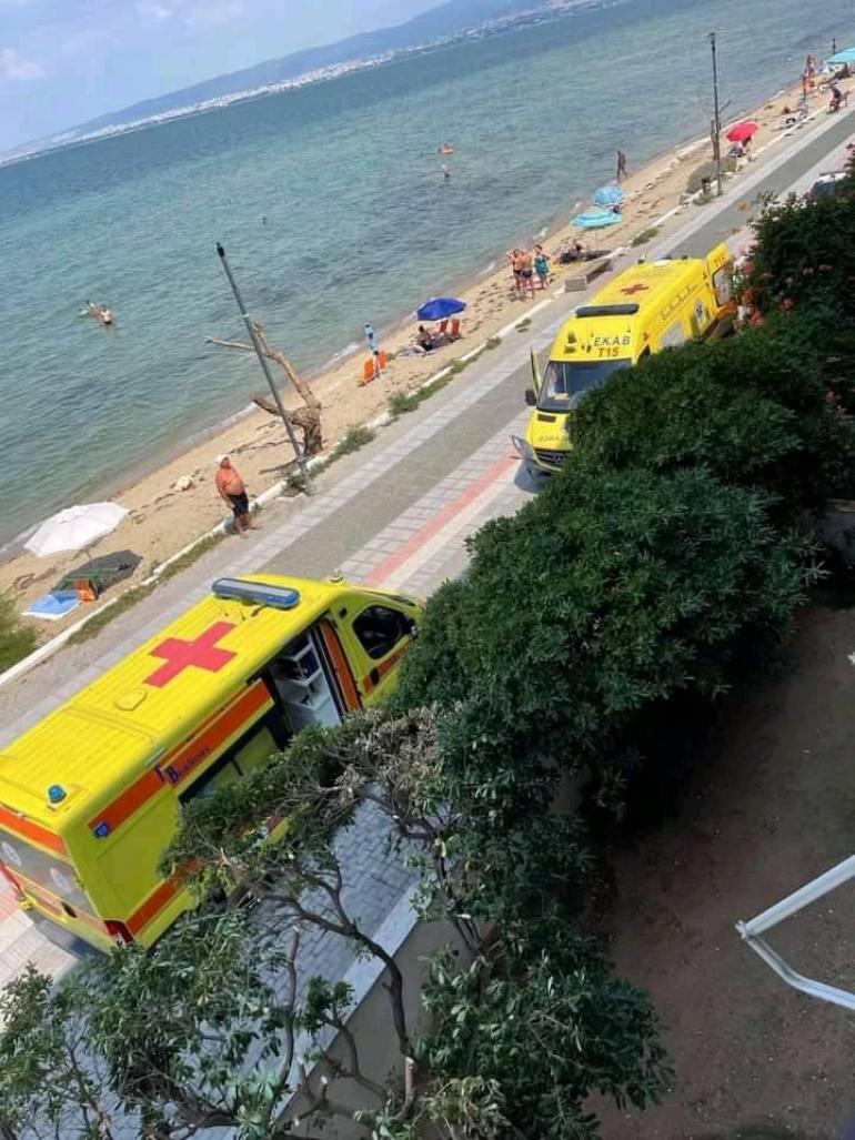 Θεσσαλονίκη: Πτώση άνδρα από ταράτσα στην παραλία της Περαίας