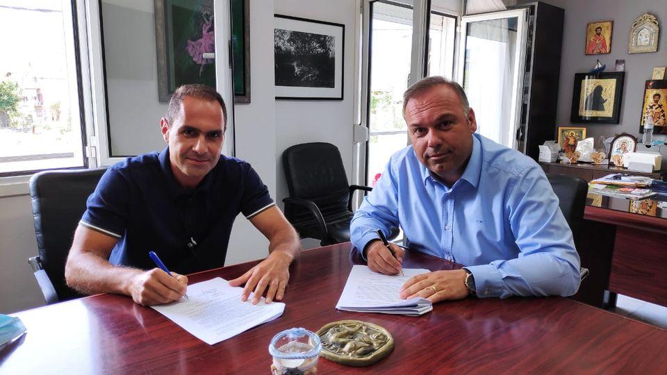 Δήμος Θάσου: «Υπογραφή σύμβασης του έργου Ανάπλαση και Ανάδειξη Δασικού Κήπου Ποτού»