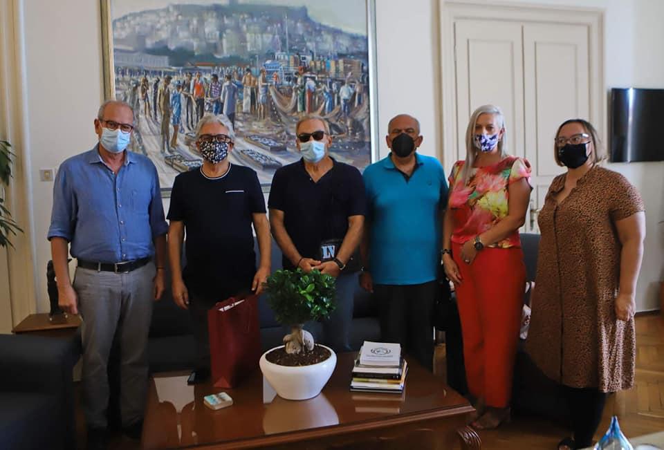 Επίσκεψη των Οικολόγων Πρασίνων στο Δημαρχείο Καβάλας