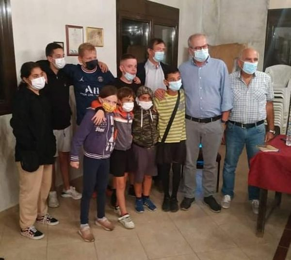 Τα παιδιά του Σταυρού συνομίλησαν με τον Δήμαρχο Καβάλας