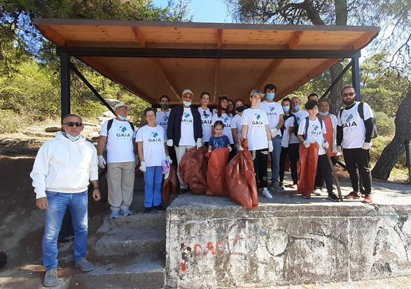 Δήμος Καβάλας / GAIA FIRST: Εθελοντικός καθαρισμός του περιαστικού δάσους Καβάλας