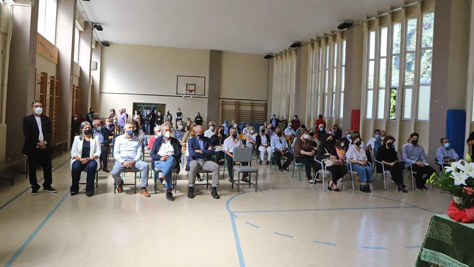 Εκδήλωση ονοματοδοσίας της αίθουσας φυσικής αγωγής του 1ου ΕΠΑΛ Καβάλας, στη μνήμη του Μιχάλη Γκάγκαλη