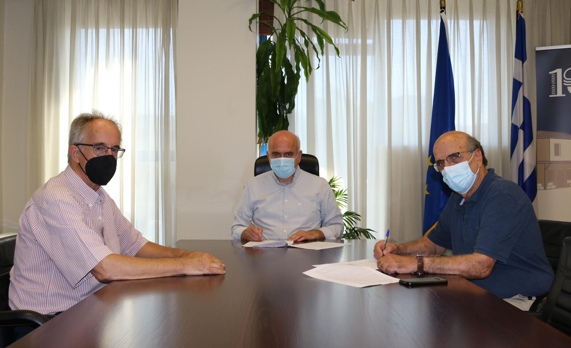 Υπογράφηκε η σύμβαση για την αποκατάσταση του δρόμου που συνδέει τους οικισμούς Ευγενικό και Λεπτή στο βόρειο Έβρο