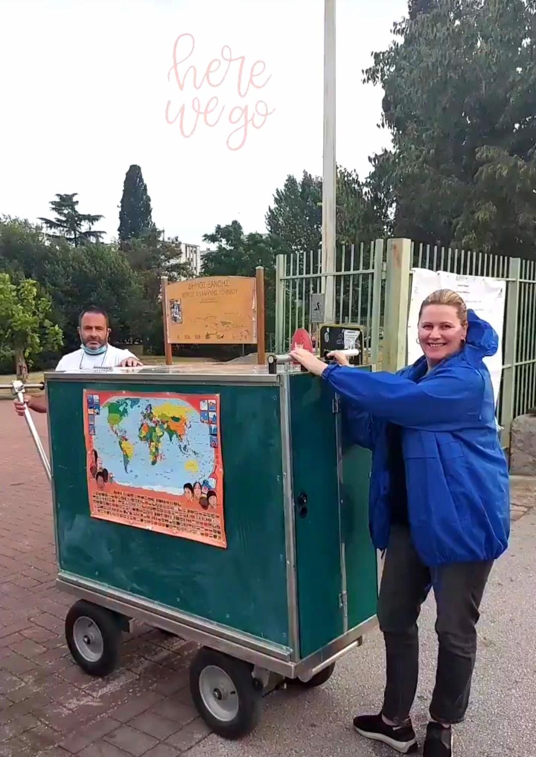 Πλούσια η εβδομάδα για το έργο «Το Mobile School Ταξιδεύει»