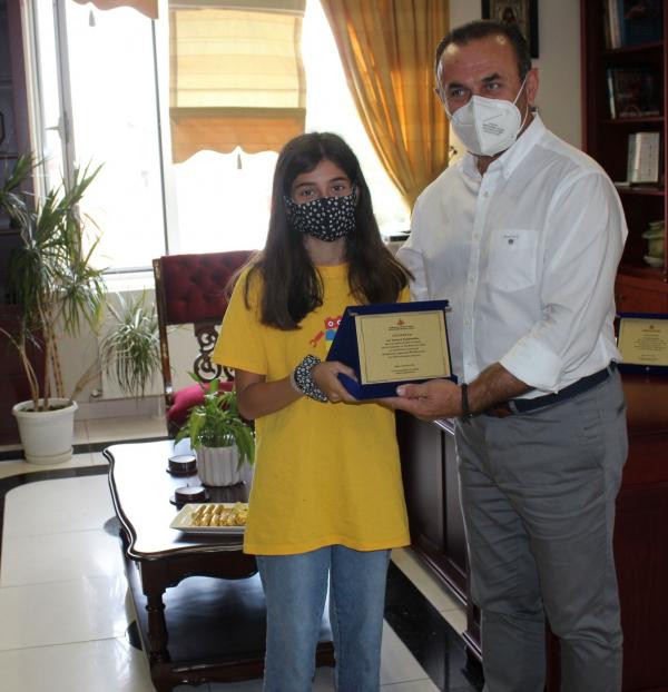 Βράβευση μαθητών δημοτικού που διακρίθηκαν στον Πανελλήνιο Διαγωνισμό Ρομποτικής WROHellas 2021 από τον Αντιπεριφερειάρχη Δράμας