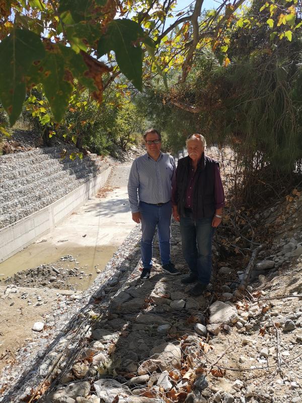 Η ΠΕ Καβάλας ολοκλήρωσε σε σύντομο χρονικο διάστημα την κατασκευή ενός σημαντικού αντιπλημμυρικού έργου στον Πρίνο της Θάσου, προϋπολογισμού 145.000 ευρώ