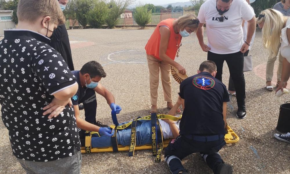 Πύργος: Τραυματισμός μαθητή την πρώτη μέρα στο σχολείο