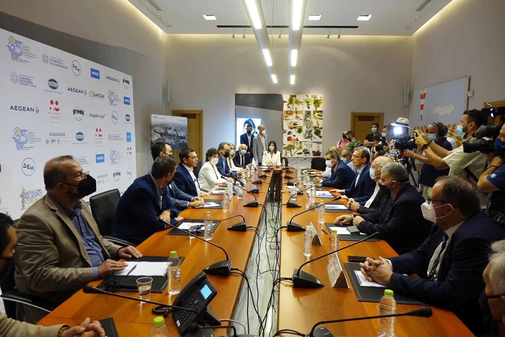 Αλέξης Τσίπρας: Σημαντικός, αναπτυξιακός πόλος η ΔΕΘ για τη Θεσσαλονίκη