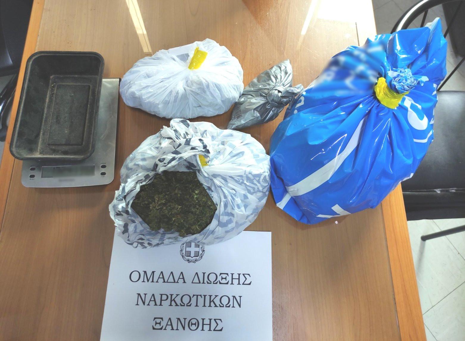 Συνελήφθη ημεδαπός για κατοχή ναρκωτικών και παράνομη οπλοκατοχή