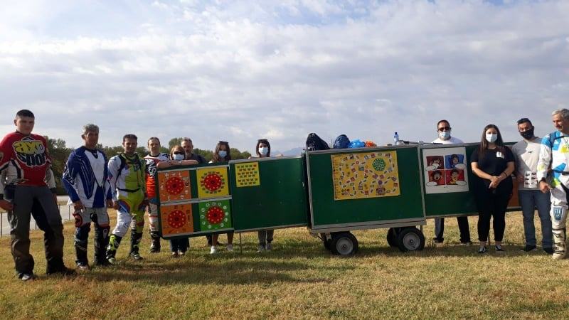 Το έργο «ToMobileSchool Ταξιδεύει» στο Speedway Marathon Καλλιφύτου. Δράση ενημέρωσης και ευαισθητοποίησης του κοινού