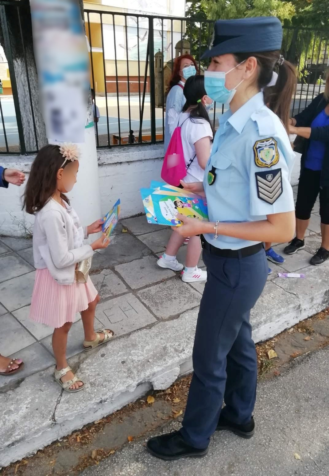 Η Ελληνική Αστυνομία βρέθηκε στα δημοτικά σχολεία της Ανατολικής Μακεδονίας και της Θράκης