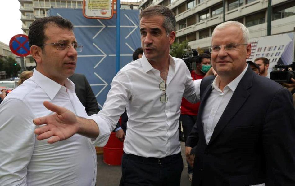 Με τον Εκρέμ Ιμάμογλου συναντήθηκε στην Αθήνα ο Ιλχάν Αχμέτ