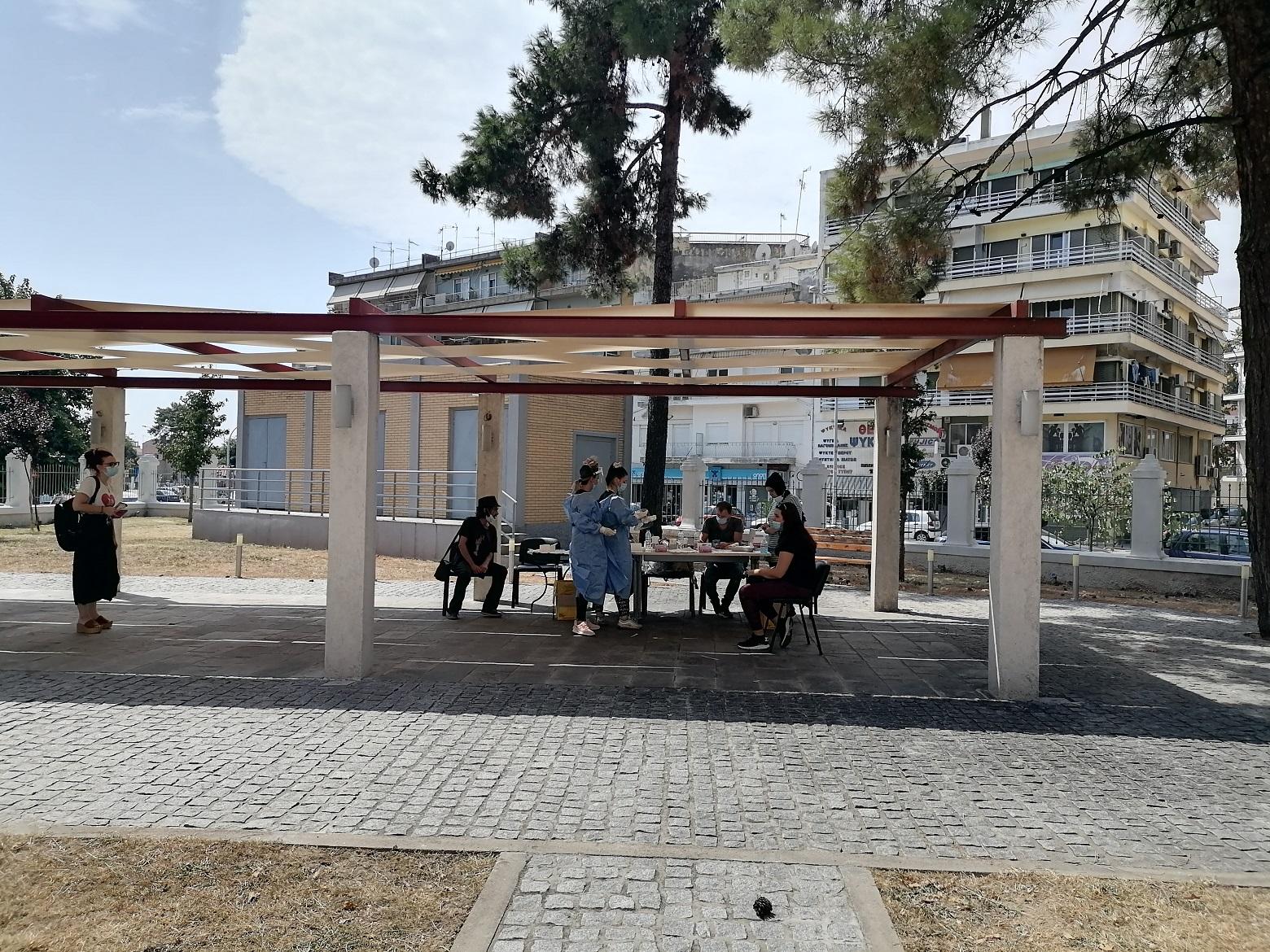 Rapid tests στη Διεύθυνση Υγείας και τη Δημοτική Βιβλιοθήκη