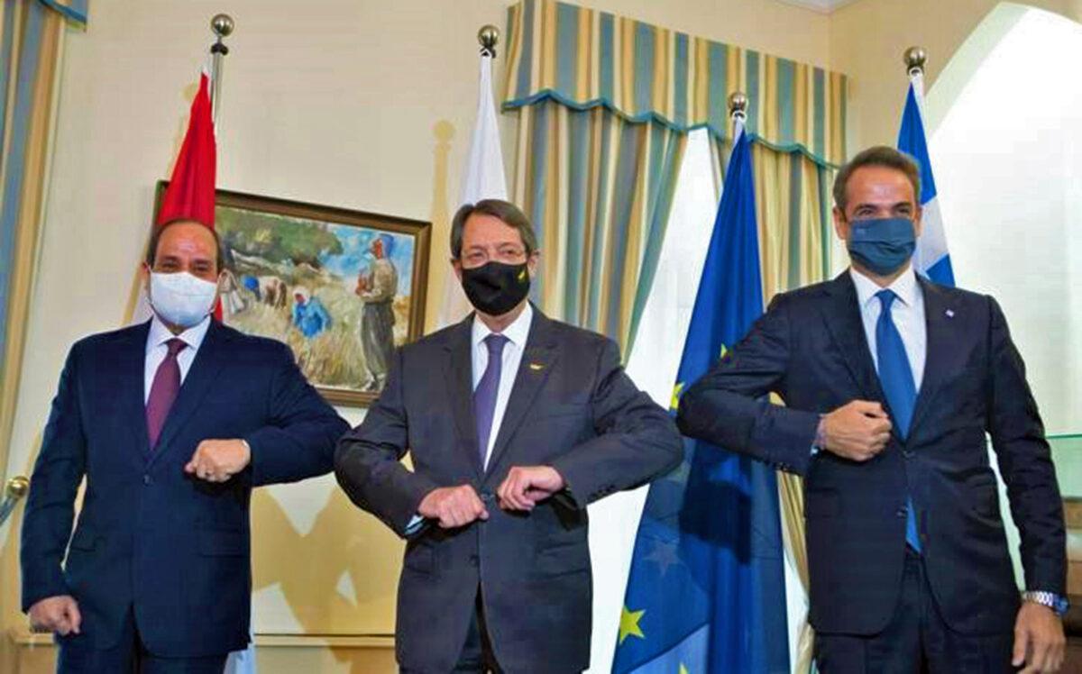 Στην Καβάλα η 9η Τριμερής Σύνοδος Κορυφής Ελλάδας-Αιγύπτου-Κύπρου