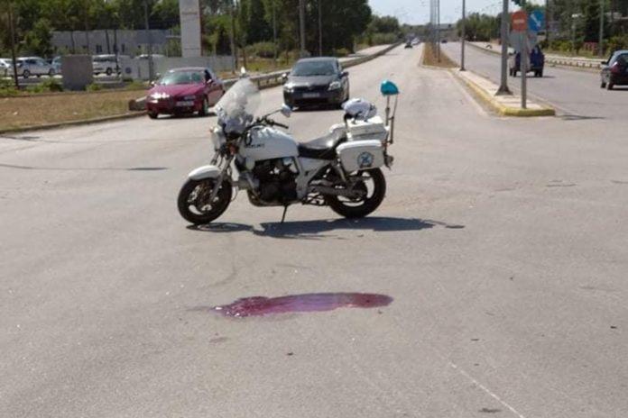 Σοβαρό τροχαίο στην δυτική είσοδο Κομοτηνής με δύο τραυματίες