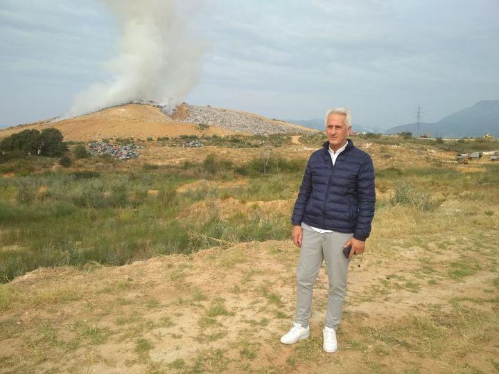 Μανώλης Τσέπελης :Υπό έλεγχο η φωτιά στο ΧΥΤΑ Ξάνθης