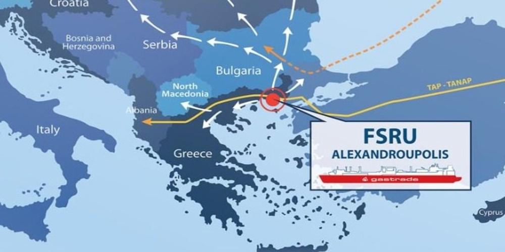 Στο ΕΣΠΑ το νέο σύστημα φυσικού αερίου Αλεξανδρούπολης προϋπολογισμού 363,7 εκατ. ευρώ