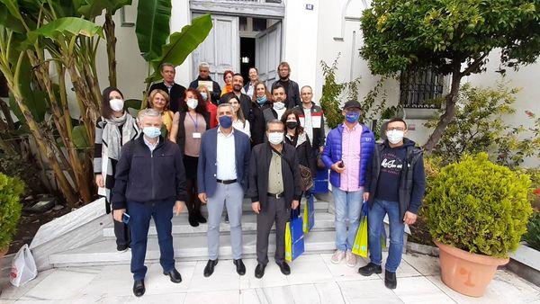 Επίσκεψη στο Δημαρχείο Καβάλας ομάδας καθηγητών που συμμετέχουν στο πρόγραμμα Erasmus