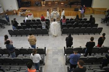 Θεία Λειτουργία στο Μουσικό Σχολείο Κομοτηνής