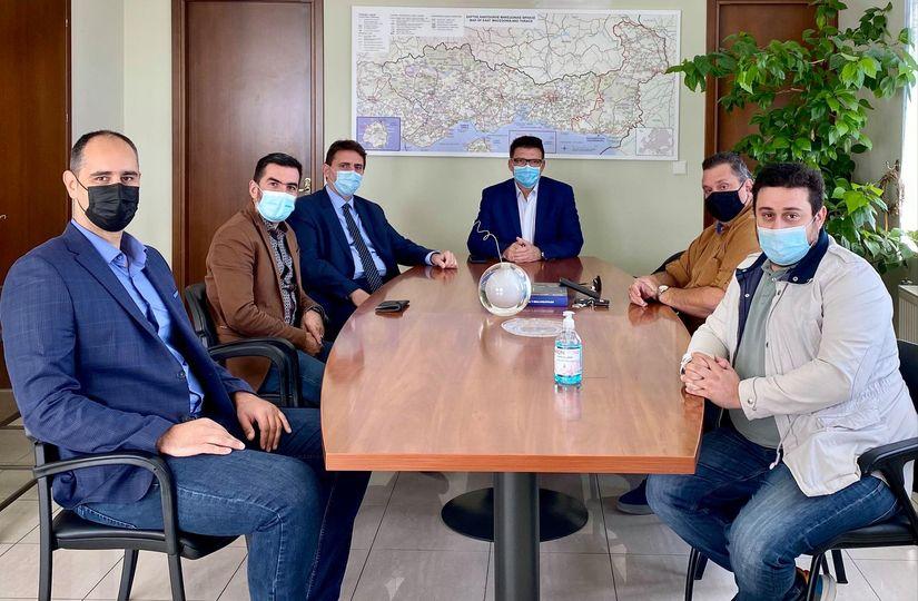 Συνάντηση του ΔΣ του ΣΕΒ με τον Αντιπεριφερειάρχη Έβρου Δημήτριο Πέτροβιτς