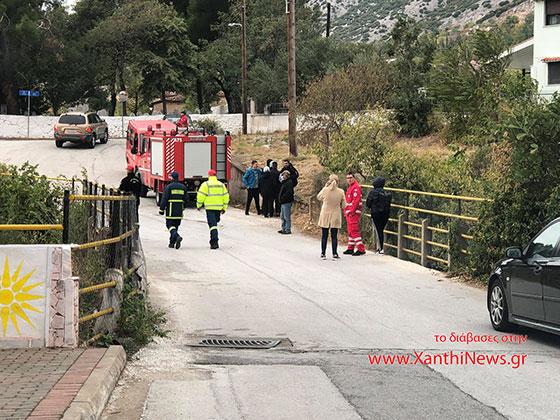 Ξάνθη: Εξαφανίσθηκε παιδί από το Ψυχολογικό Κέντρο, το ψάχνουν Πυροσβέστες μέσα στο ρέμα της Χρύσας