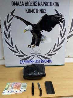 Συνελήφθη ημεδαπός κατηγορούμενος για παραβάσεις των νόμων περί ναρκωτικών και περί όπλων
