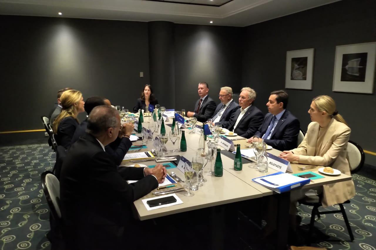 Συνάντηση Υπουργού Μετανάστευσης και Ασύλου, Νότη Μηταράκη με την Επίτροπο Εσωτερικών Υποθέσεων της Ε.Ε., YlvaJohansson