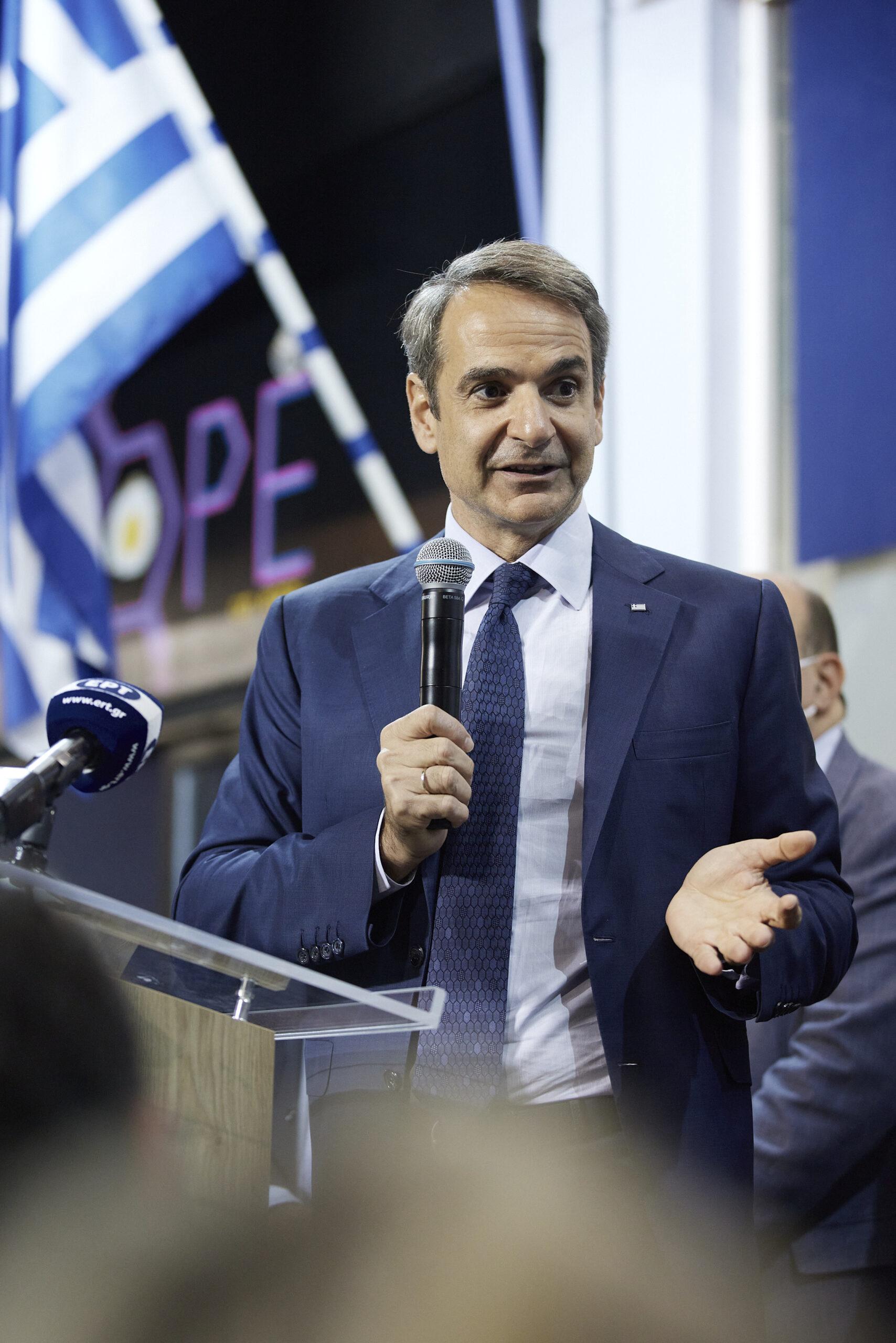 Κυριάκος Μητσοτάκης: «Η Νέα Δημοκρατία είναι ένα κόμμα βαθιά λαϊκό»