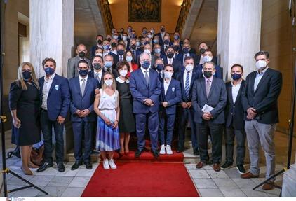 Εκκινεί την προσεχή εβδομάδα η διαβούλευση του Λευτέρη Αυγενάκη με τους εκπροσώπους των αθλητών στα ΔΣ των Ομοσπονδιών, για τις παροχές της Πολιτείας προς τους διακεκριμένους αθλητές