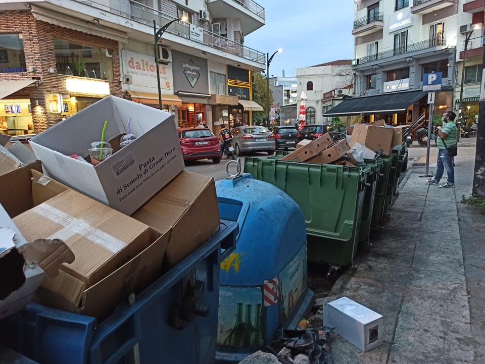 Αντώνης Γραβάνης : «κ. Γκαράνη μοναδικός υπεύθυνος για την «αισχρή» κατάσταση της πόλης και των οικισμών, είστε πρωταρχικά εσείς..»