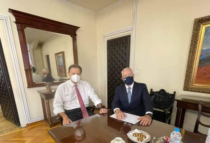 Ο βουλευτής Ροδόπης είχε συνάντηση με τον Θόδωρο Σκυλακάκη στο υπ. Οικονομικών