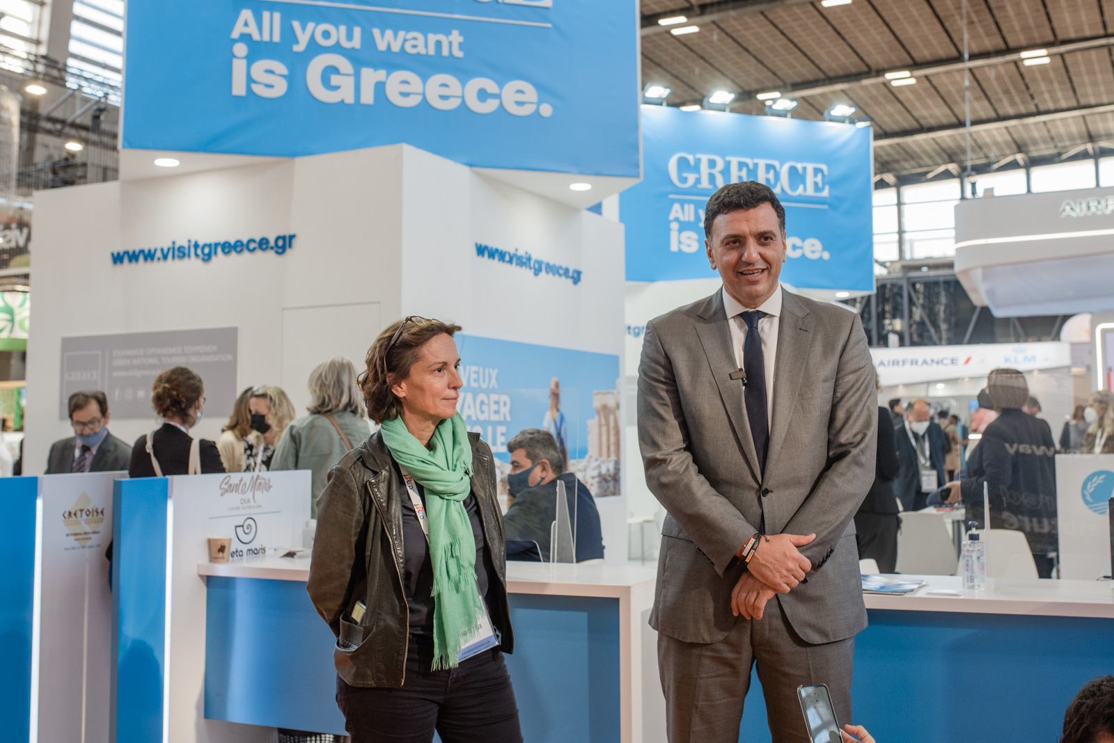 Στη διεθνή τουριστική έκθεση Top Resa στο Παρίσι ο Υπουργός Βασίλης Κικίλιας