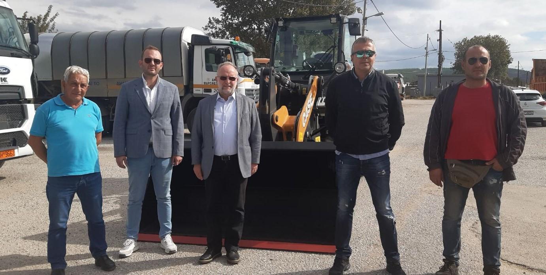 Ο Δήμος Μαρωνείας-Σαπών εκσυγχρονίζει και αναβαθμίζει το στόλο οχημάτων του