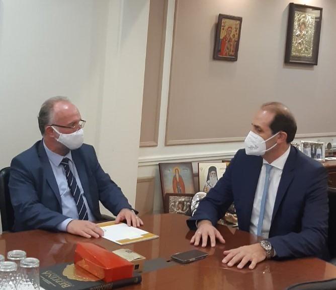 Συναντήσεις του Δημάρχου Μαρωνείας-Σαπών με τον Υφυπουργό Οικονομικών, τον Διοικητή του e-ΕΦΚΑ και στελέχη υπουργείων στην Αθήνα