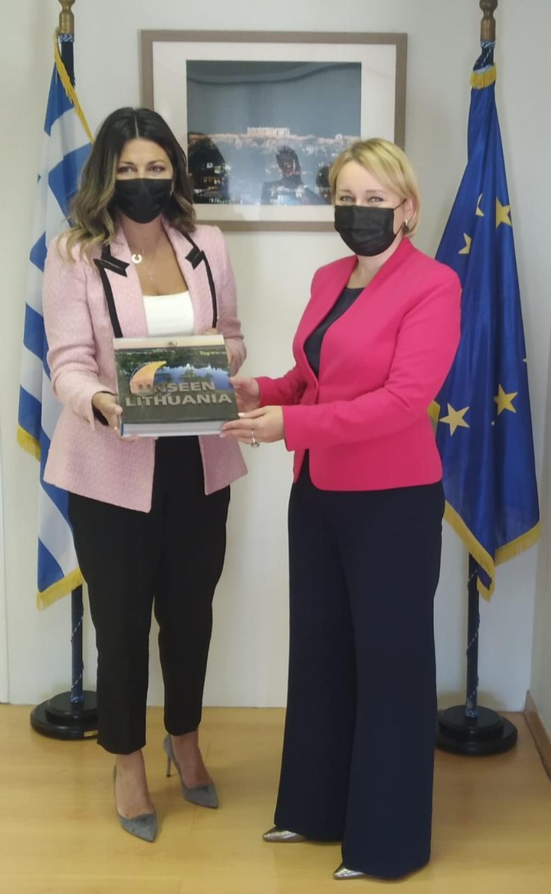 Συνάντηση υφυπουργών Ελλάδας – Λιθουανίας